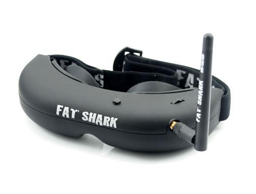 FATSHARK Predator V2 FPV RTF Headset System Video Goggle GLASS CAMERA