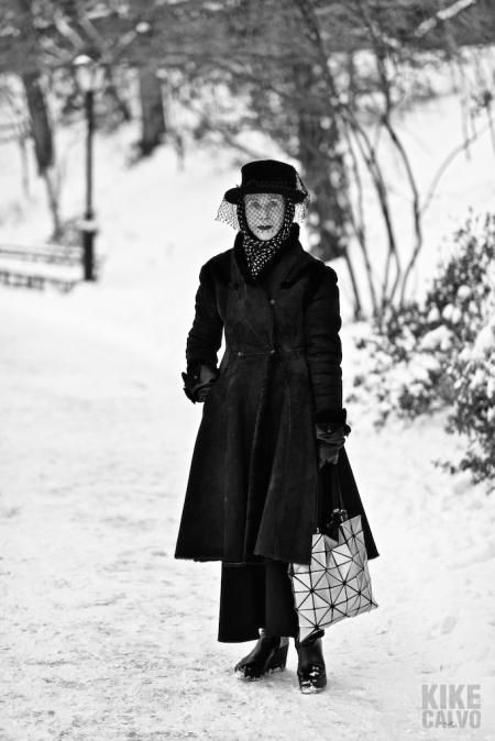 New York in Winter, Artist Beatrix Ost by KIKE CALVO
