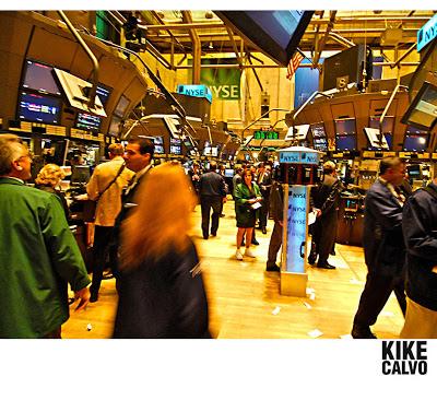 NYSE by KIKE CALVO