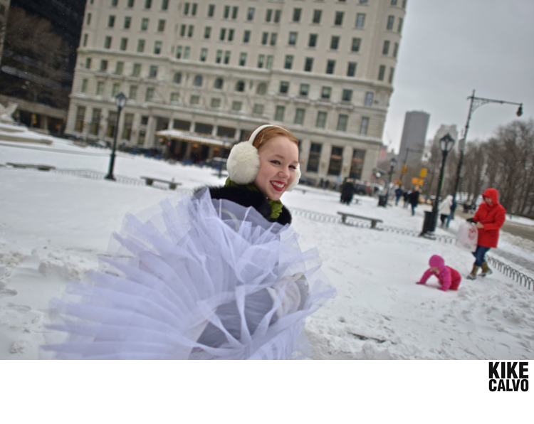Dancer Kylie Edwards by KIKE CALVO