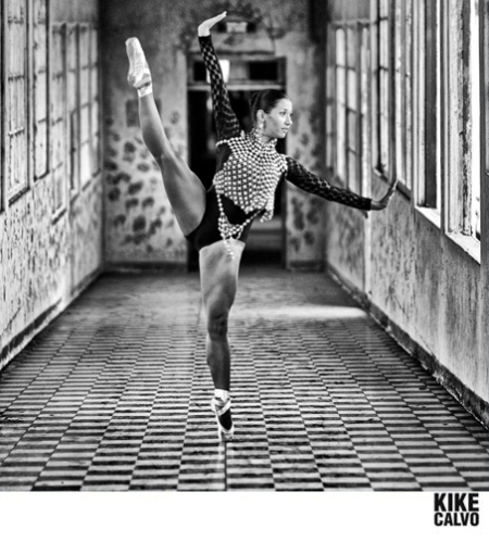 Dancer Katherina Madriz by KIKE CALVO