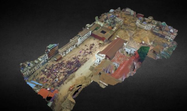 MAPPING of POST-EARTHQUAKE KATHMANDU DURBAR SQUARE on KIKE CALVO DRONE BLOG