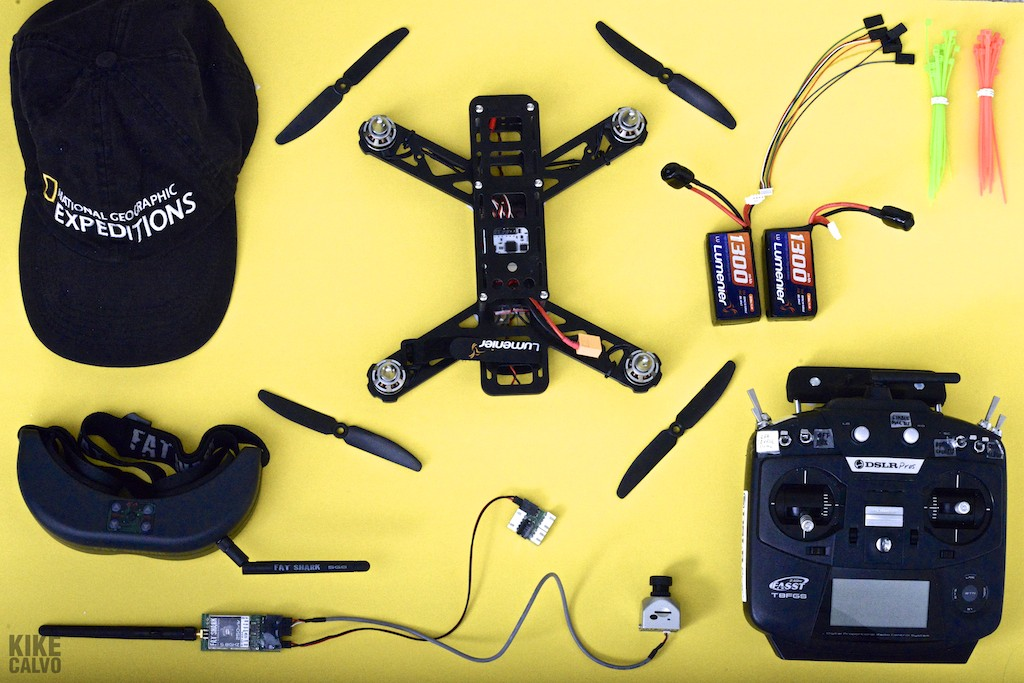 QAV250 FPV Kit by KIKE CALVO