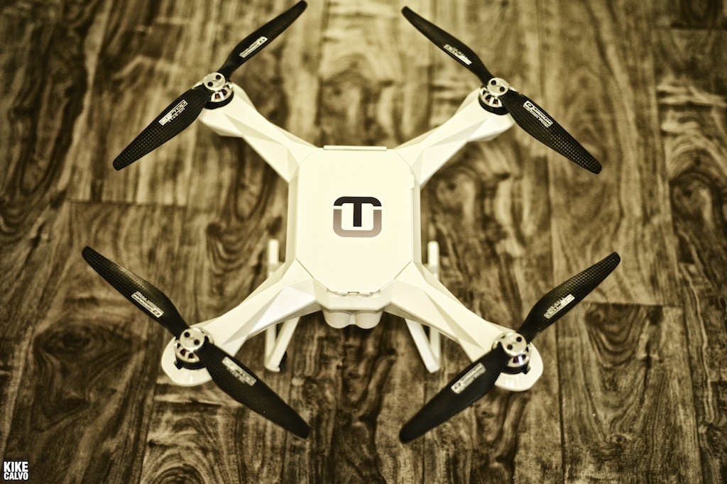 The new waterproof quadcopter by Tayzu Robotics