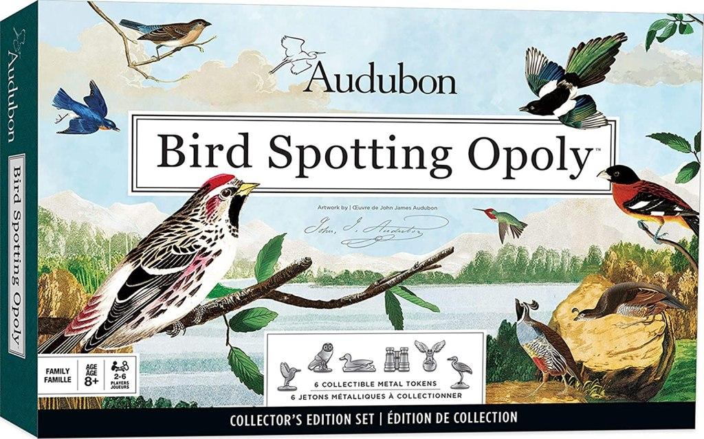 Audubon Bird Spotting Opoly Game