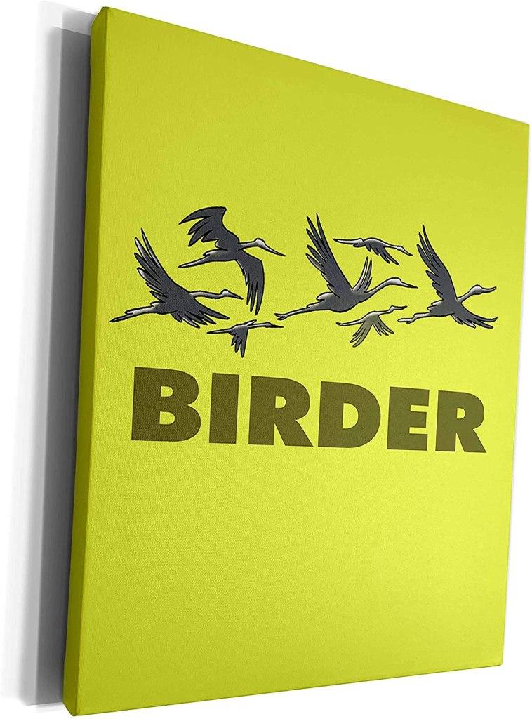Birder - Museum Grade Canvas Wrap