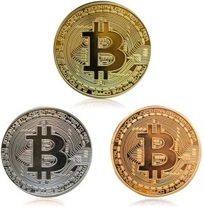 """Shopping for a """"crypto-obsessed"""" friend or family member? If you know anyone who believes blockchain and cryptocurrencies have the potential to transform the world, you will find the perfect selection of gifts for the Bitcon Hodler. Catch them off guard with gifts that will put a smile on their faces. Gold Silver and Bronze Physical Blockchain Cryptocurrency in Protective Collectable Gift"""