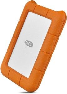 LaCie Rugged USB-C 5TB External Hard Drive Portable HDD – USB 3.0