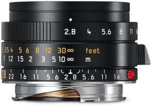 Leica 28mm f/2.8 Elmarit-M Aspherical Lens
