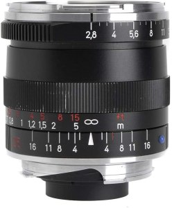Zeiss Ikon Biogon T ZM 2.8/25 Wide-Angle Camera Lens for Leica M-Mount