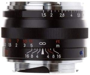 ZEISS Ikon C Sonnar T ZM 1.5/50 Standard Camera Lens for Leica M-Mount